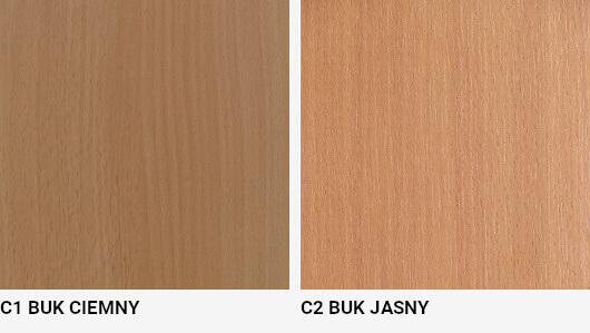 Kolory frontów łóżek standardowe